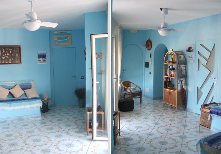 L 39 interno architettonico casa al mare con terrazzo ischia for Case al mare interni