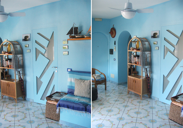 Verniciare casa affordable vernice da esterno with for Colore esterno casa al mare